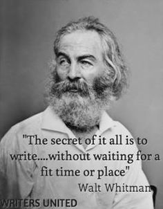 Not waiting for time and place