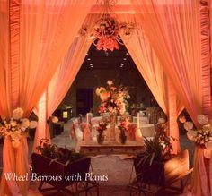Vintage English Decor for an Indian Wedding #wedmegood