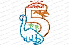 5 brachiosauraus birthday number