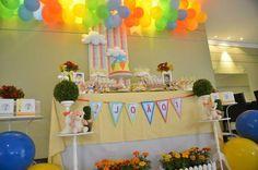 Hot Air Balloon Party #balloon #party