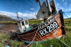 Old fishing boat in Leverburgh, South Harris by Les Ellingham on 500px