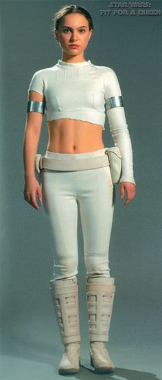 Star Wars Padme Amidala Battle Arena Outfit - Front view