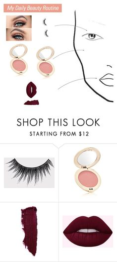 """daily beauty"" by sara-kkh on Polyvore featuring eylure and Jane Iredale"
