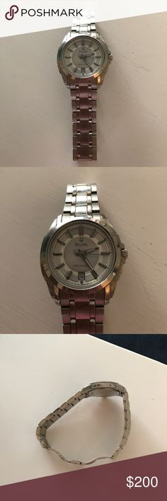 Men's Bulova Watch Like new Bulova Watch for men. This watch is practically new, having been worn only a few times. Bulova Accessories Watches