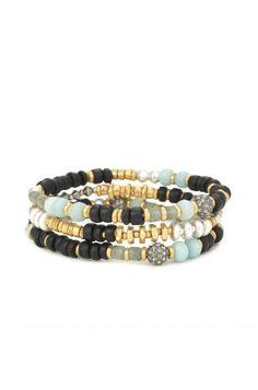 Beaded Artisan Stretch Bracelets | Stella & Dot
