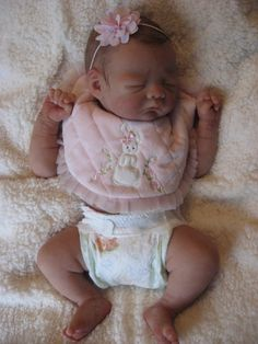 Malia sleeping, $1999 US dollars, order now at www.dollconnectionstore.com, layaway and shipping worldwide 1-866-817-0795
