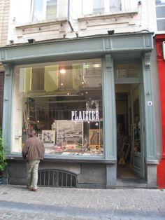 the best paper shop on earth.  Plaizier- Brussels