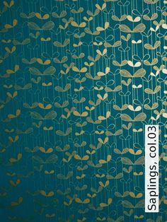 """Wallpaper """"Saplings"""" by Tapeten-Agentur"""