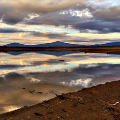 Wickiup Reservoir in Central Oregon. ------------------------------ @chadcarpenter