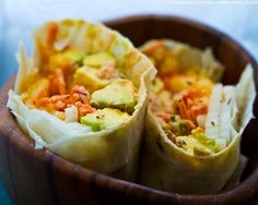I call my Florida Avocado Summer Wrap the Bikini Wrap. Why? Because it has all the buttery avocado taste and texture I love with 50% less fat than with a California (traditional) avocado - perfect for bikini season!