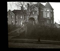 The herman kountze mansion at 8th and forest ave which became the st catherine hospital Gallagher swimming pool omaha ne