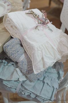Rachel Ashwell Shabby Chic Couture New York - ruffles and lace ~❥