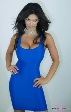 in a bluedress!