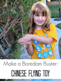 A Summer Boredom Buster - Homemade Flying Toy