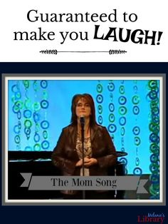 """Anita Renfroe sums up all the things that a mother says to her children in a three-minute song called """"Momisms"""" set to the William Tell Overture. There is also a quote by Elder Holland on Mothers. Relief Society Lessons, Relief Society Activities, Mothers Day Songs, Funny Mothers Day, Mom Song, Lds Blogs, Primary Songs, Fhe Lessons, Bad Mom"""