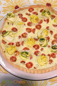 Serve this Ratatouille Tart along with a fresh salad for a lunch or dinner for the perfect vegetarian friendly meal everyone will love.