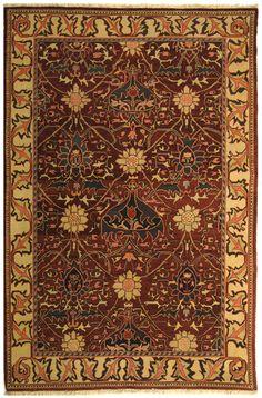 Safavieh Turkistan Plum/Ivory Rug