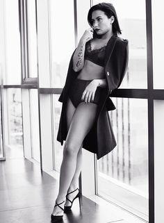 dlovato-news: Demi Lovato by Alexi Lubomirski for Allure Magazine February 2016 issue. +