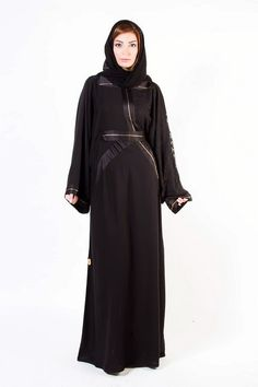New Arabic Designer Abayas & Modern Gowns designs with Hiab Collection 2015-2016 for Women (2)