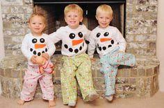 Snowman Christmas PJ's...