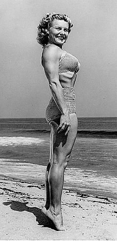 "Abbye ""Pudgy"" Stockton - The History of Female Bodybuilding"