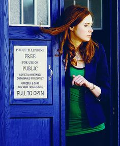 I think the doctor chose Amy because he's always wanted to be a ginger. Doctor Who, Doctor Love, Eleventh Doctor, Karen Sheila Gillan, Karen Gillan, Daphne Blake, Matt Smith, Geronimo, Dr Who