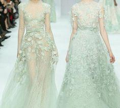 Prachtige bruidsjurken van ontwerper Elie Saab...