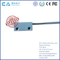 Magnetic Switch factory recommends this metal zinc case door magnetic contact