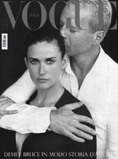 Bruce Willis and Demi Moore. Always the first is the best.