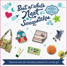 Repin and click the product link to enter the sweepstakes!