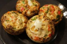 Clean Eat Egg Quiche Muffins Recipe via @SparkPeople