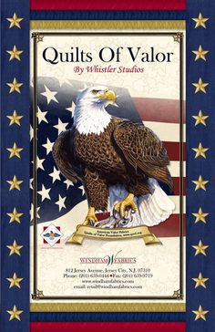 Quilts of Valor by Windham Fabrics - I so want to do a QOV some day