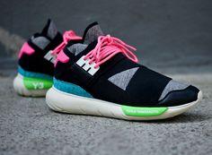 adidas Y-3 Qasa High – Black – Neon