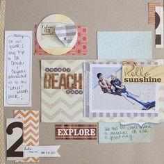 Secret Beach for Elle's Studio by AllisonWaken at Studio Calico