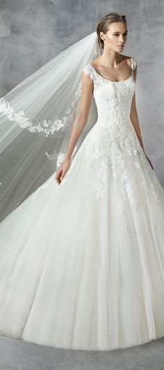 pronovias pleiada ball gown wedding dresses 2016 collection