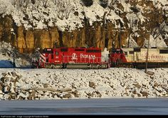 RailPictures.Net Photo: INRD 44 Indiana Rail Road EMD SD40-2 at Hastings, Minnesota by Frederick Wolter