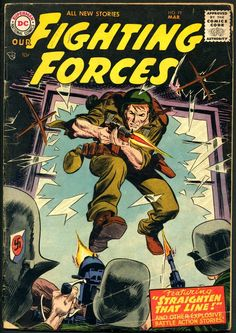 Comic Book Artist : Joe Kubert | Abduzeedo | Graphic Design Inspiration and Photoshop Tutorials