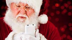 #fatherchristmas on #mobilephone