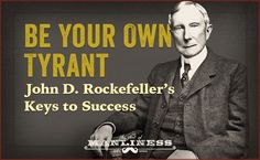 Rockefeller had an almost eerie self-control. He honed his will, training himself to be master of his emotions, desires, and schedule. Self Control Quotes, John D Rockefeller, Self Efficacy, Art Of Manliness, Something To Remember, Knowledge And Wisdom, Thought Provoking, Self Improvement, Self Help