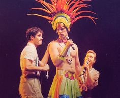 Let's comfort Jim...er, Margaret, the Mayan God of Chaos and Death as well as musical theatre.