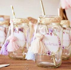 decoracion de frascos
