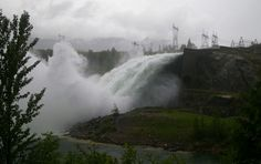 Revelstoke Dam opens the floodgates... For the first time since 1997, BC Hydro has opened the flood gates and is spilling up to 42,000 cubic meters every second from the Revelstoke Reservoir. Revelstoke Dam is Canada's second generating project on the Columbia River and one of four dams in B.C. that regulate the flow of the Columbia.