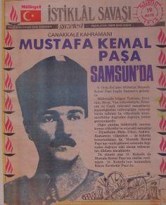 Atatürk    Mustafa Pasha    Samsun'da
