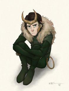 Loki - AoA by CaptBexx.deviantart.com on @DeviantArt