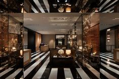 The Lobby of the Rosewood Hotel, London
