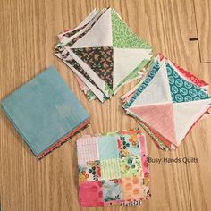 Busy Hands Quilts: Scrappy Patchwork Quilt Sew Along Blocks are Made!