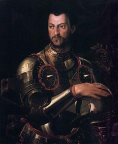 Portrait of Cosimo I de' Medici - Agnolo Bronzino