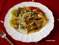 Dorada a la murciana - La cocina de Catina Japchae, Meat, Chicken, Ethnic Recipes, Murcia, Food, Gastronomia, Gourmet, Sweet And Saltines