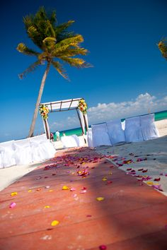 THIS IS WHERE I'M GETTING MARRIED :-)  Beachfront wedding location Azul Fives Hotel by Karisma