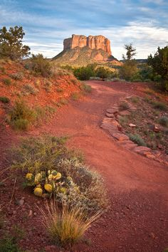 #Sedona Courthouse Butte. Great hiking. Visit #Sedona while staying in a private vacation home. Call RED ROCK REALTY for rates and dates. 800-279-1945. www.redrockrealty.net. See You Soon!